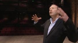 Michael Boyd, the RSC's artistic director, at the Royal Shakespeare Theatre