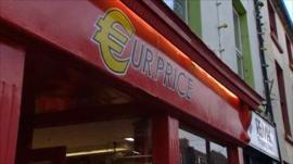 Ireland shop front