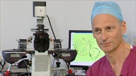 Managing director of the CARE Fertility Group, Professor Simon Fishel