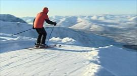Skiing in Scotland