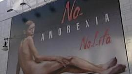 Isabelle Caro poster