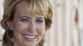 US Congresswoman Gabrielle Giffords