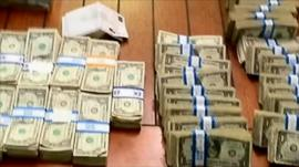 Single dollar bills