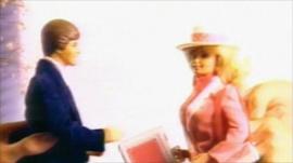 Ken and Barbie dolls