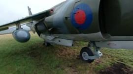 A Harrier Jump Jet