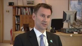 Culture Secretary, Jeremy Hunt