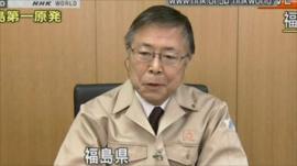 Governor of Fukushima, Yuhei Sato