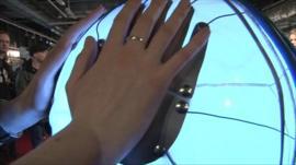 Emergence - biofeedback art installation