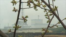 Nuclear plant in Tokaimura