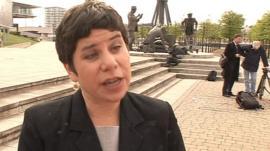 Antonia Juhasz of Global Exchange
