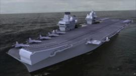 Digital image of the ship