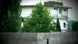Compound where Bin Laden was found