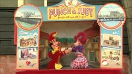 Punch and Judy graphic
