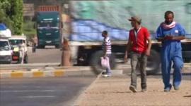 Egypt street scene