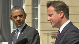 Obama and Cameron