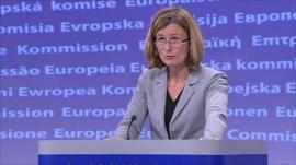 Commission spokesperson Pia Ahrenkilde Hansen