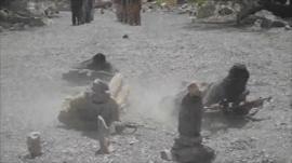 Balochistan separatists training