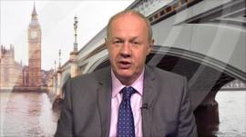 Immigration Minister Damian Green
