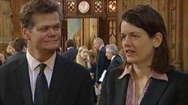 Stephen Lloyd MP and Kitty Ussher