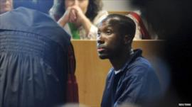 Rudy Guede in court