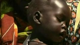 Child in S Sudan