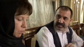 Ahmad Wali Karzai speaks to Lyse Douset