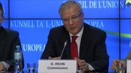 Olli Rehn, Ecofin