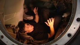 A look inside a Soyuz spacecraft