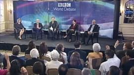 BBC World Debate in Washington