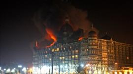 Fire at the Taj Mahal Palace Hotel