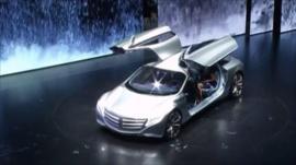 Frankfurt car show