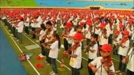 Taiwan violinists