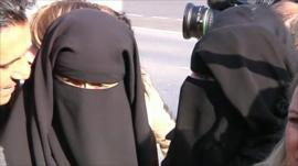 Women in Niqab