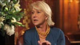 Helen Mirren on the Andrew Marr Show