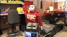 Robot-gym instructor