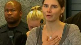 Amanda Knox speaking in Seattle