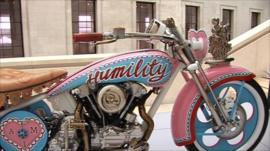 AM1, a motorcycle by Grayson Perry