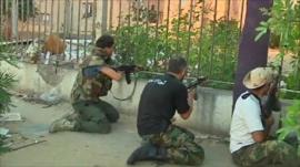 Gunmen loyal to transitional government