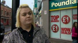 Lyndsay Pattison, the Poundland worker who won the right to wear a poppy.