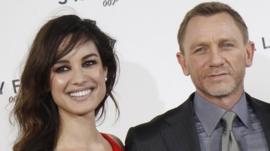 Berenice Marlohe and Daniel Craig