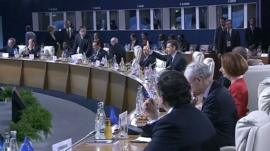 G20 leaders agree to increase money to IMF to help ease the European debt crisis