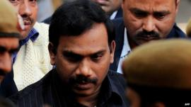 A Raja quit in November last year but denies any wrongdoing