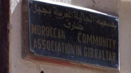 Moroccan Community sign