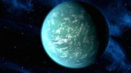 Artist's conception of Kepler 22-b