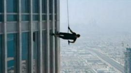 Filming Mission: Impossible - Ghost Protocol in Dubai