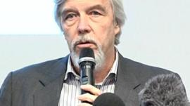 Prof Rolf-Dieter Heuer, director-general of Cern