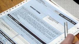 Council tax form