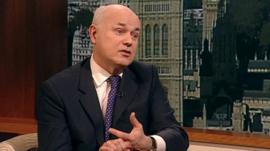 Work and Pensions Secretary, Iain Duncan Smith