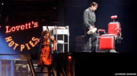 Michael Ball and Imelda Staunton in Sweeney Todd