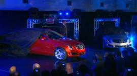GM cars being unveiled